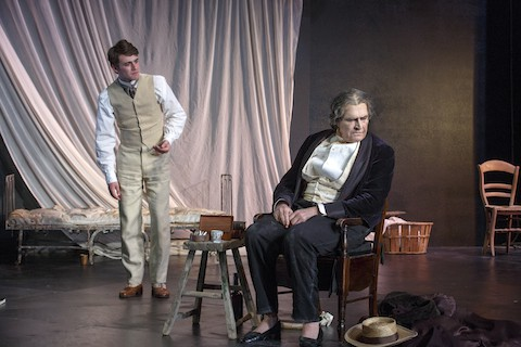 Photo: Rupert Everett as Oscar Wilde in David Hare's 1998 play, THE JUDAS KISS Directed by Neil Armfield dress rehearsal photographed: Tuesday, May 10, 2016; 7:00 PM at the BAM Harvey Theater; Brooklyn Academy of Music, NYC; Photograph: © 2016 Richard Termine PHOTO CREDIT - Richard Termine