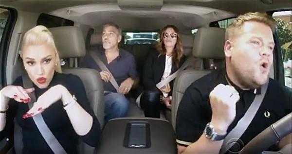 Hollaback Girl gwen stefani carpool karaoke