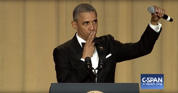President Obama correspondents dinner
