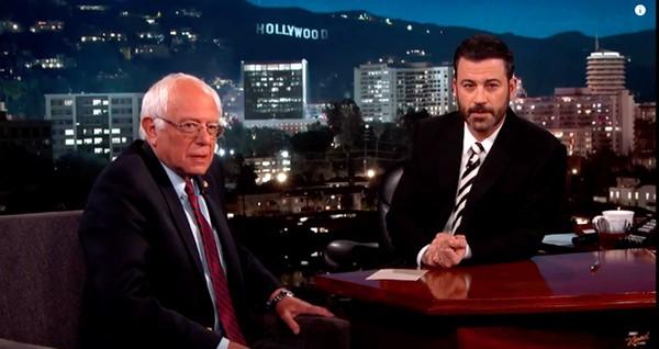Bernie Sanders Kimmel
