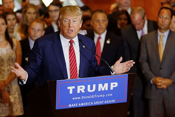 Donald Trump Trumps SCOTUS list