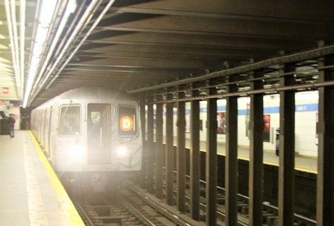 D Train New York Subway