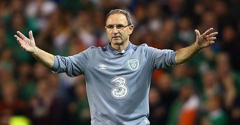 Martin O'Neill Irish Soccer Manager