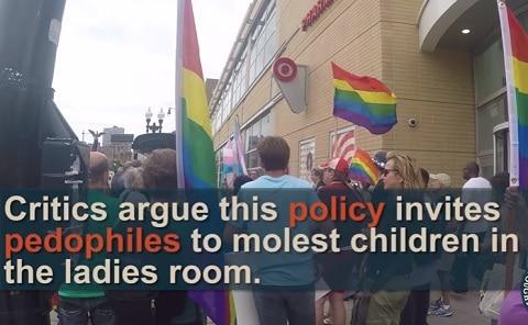 Transgender Target Bathroom Policy