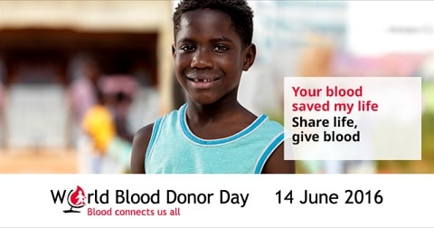 World Blood Donor Day 2016