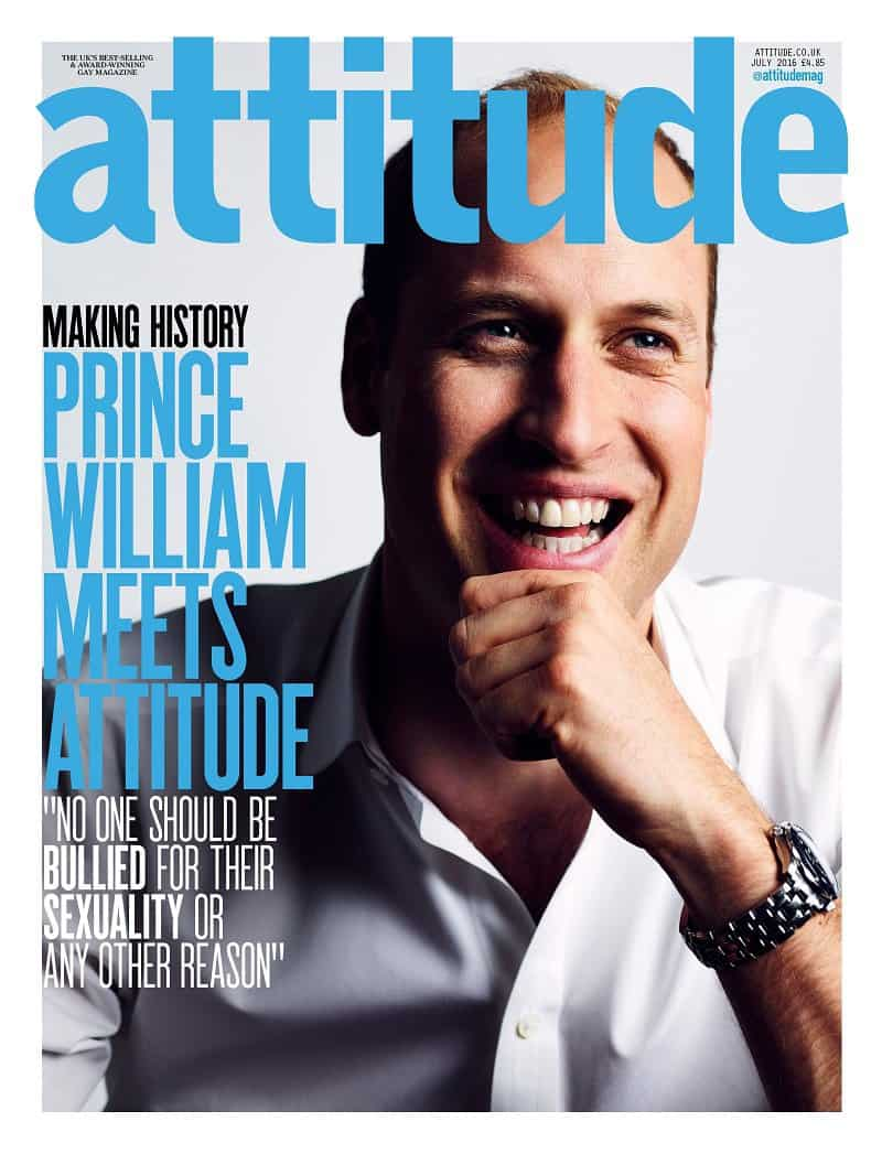 Prince William gay Attitude
