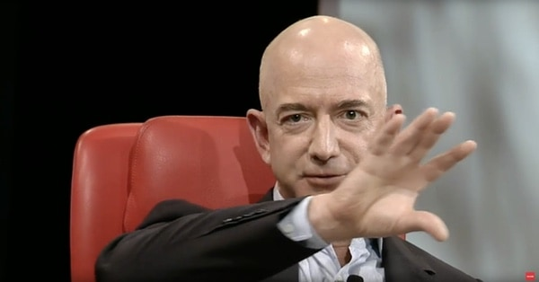 Jeff Bezos Peter Thiel