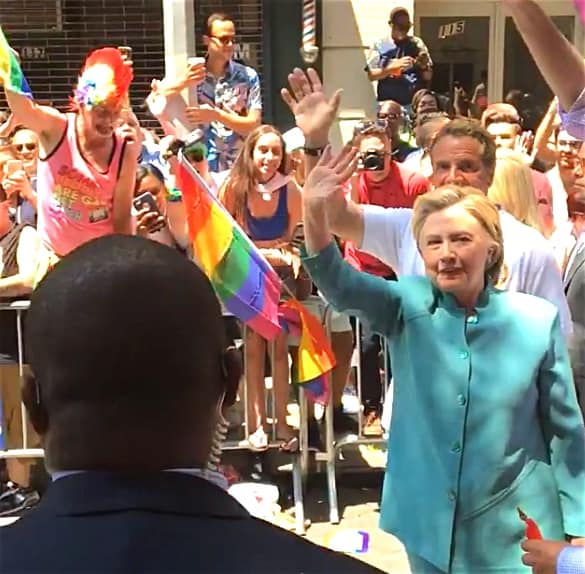 Hillary Clinton pride