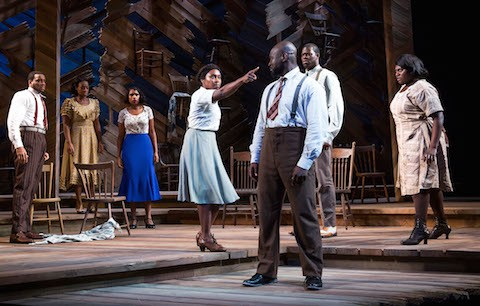 The cast of 'The Color Purple'