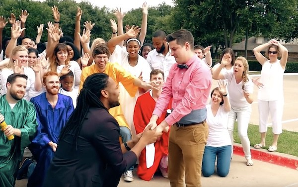 DeAndre Stu gay marriage proposal