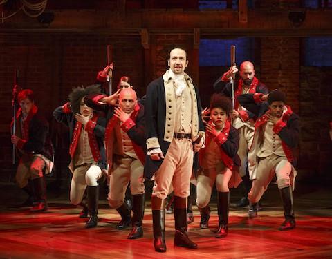 Lin-Manuel Miranda and the cast of 'Hamilton'
