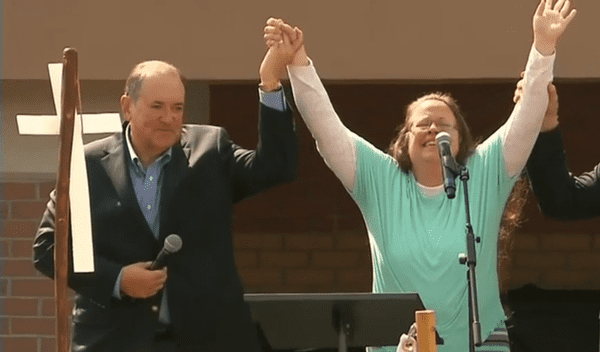 mike huckabee eye of the tiger