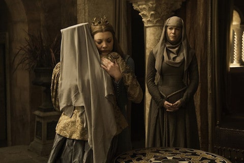 Olenna and Margaery on Game of Thrones