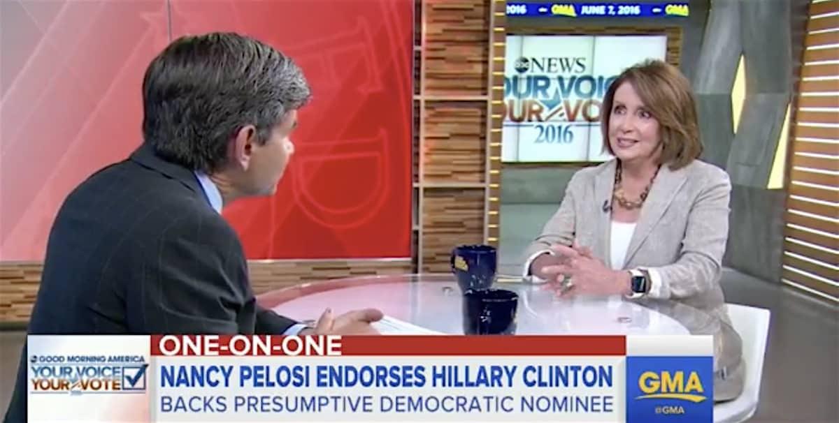 Nancy Pelosi Clinton