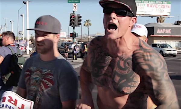 Image result for trump supporter with tattoo
