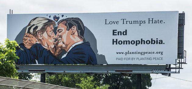billboard trump cruz kiss