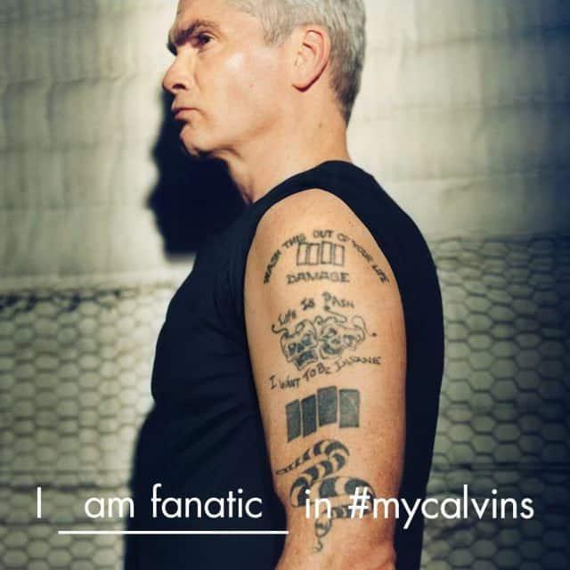 Henry Rollins Calvin Klein