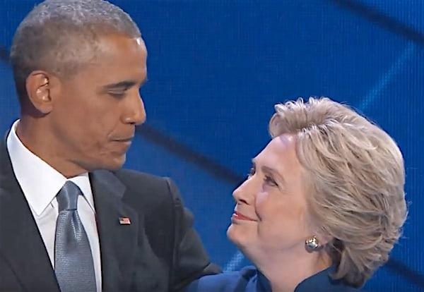 Barack Obama democratic convention speech Hillary Clinton