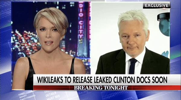 julian assange hillary
