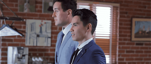 youtube stars sam tsui and casey breves get married for