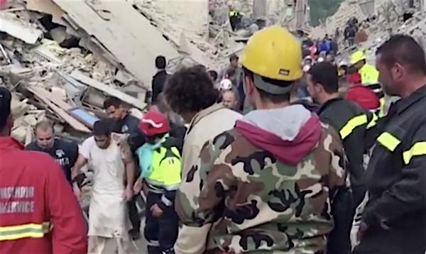 Italy earthquakes