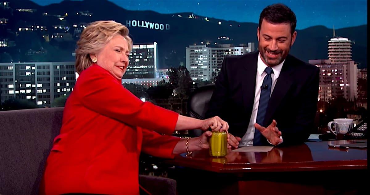 Hillary Clinton Jimmy Kimmel