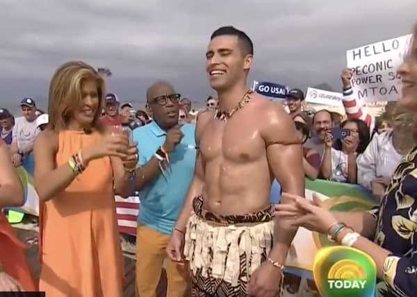 PyeongChang Winter Olympics; Tongan cult hero Pita