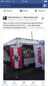 Bloomsburg Fair Nazi Flag