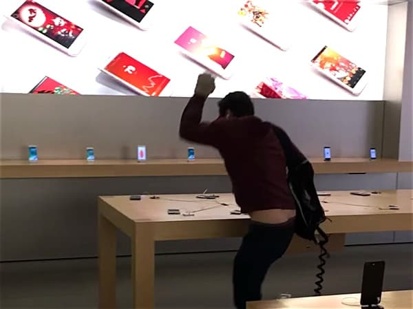 iphone smashing