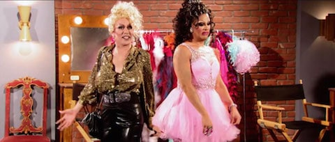 Phi Phi and Roxxxy on RuPaul's Drag Race All Stars 2