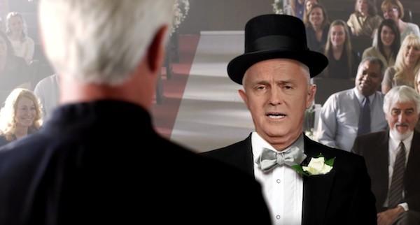 Malcolm Turnbull marriage plebiscite