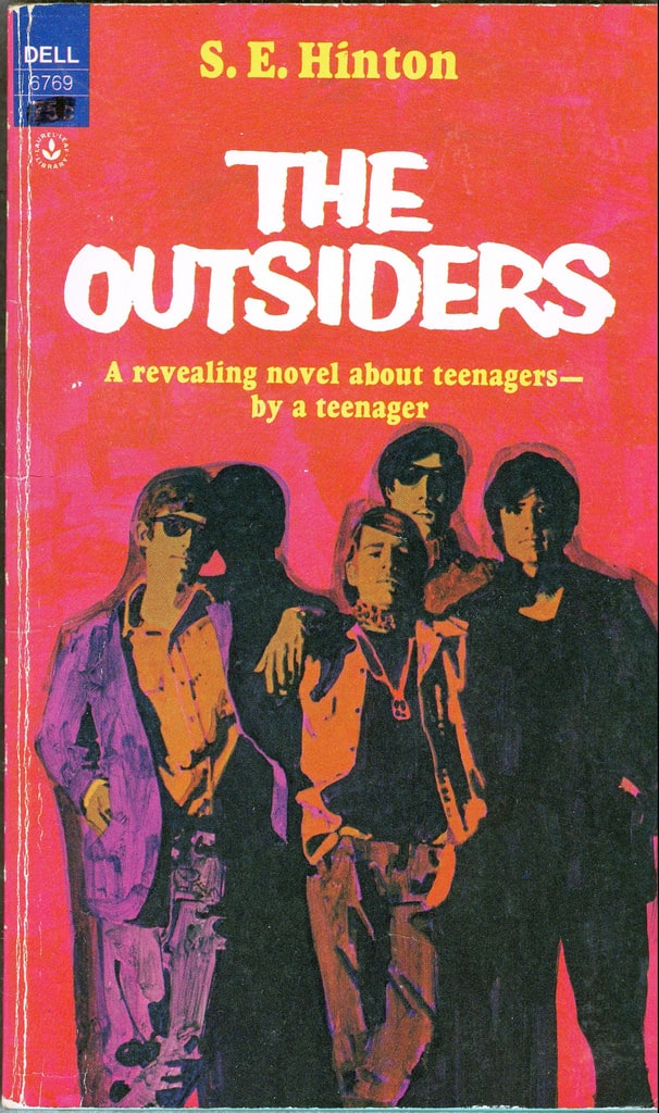 book analysis of the outsiders by s e hinton The outsiders is a coming-of-age novel by s e hinton, first published in 1967 by viking press hinton was 15 when she started writing the novel but did most of the.