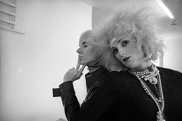 Andy Warhol and Candy Darling, New York, photo by Cecil Beaton. Courtesy The Cecil Beaton Studio Archive at Sotheby's