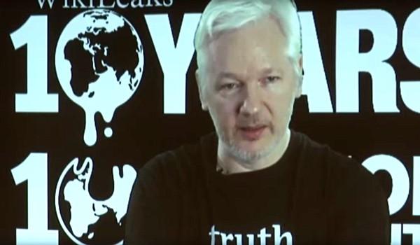 Julian Assange Clinton October surprise