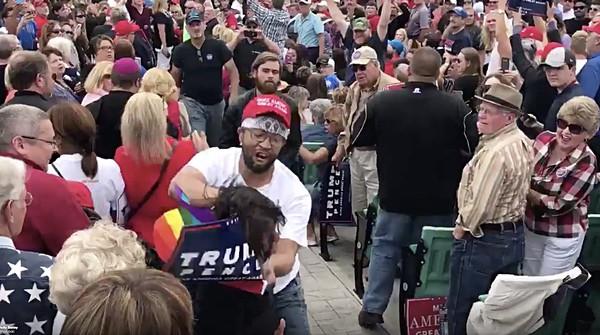 gays trump t-shirt