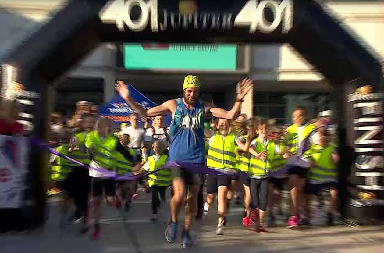 Ben Smith 401 marathons