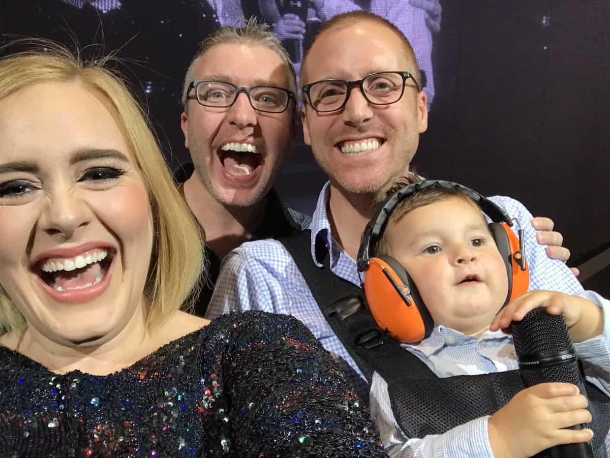Adele gay dads