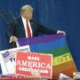 Trump Celebrates Gay Hook-Up App Poll That Says 45 Percent of Gay Men Will Vote for Him