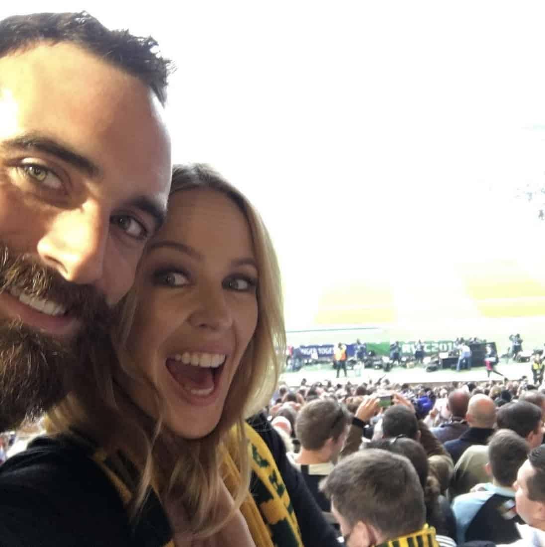 Joshua Sasse Kylie Minogue Instagram