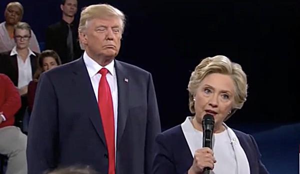 second presidential debate highlights trump clinton