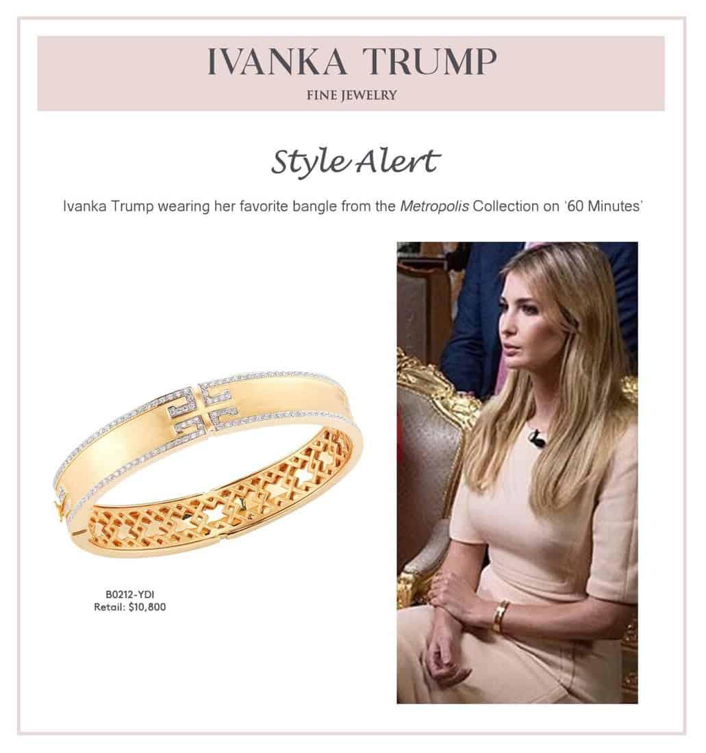 Ivanka bracelet