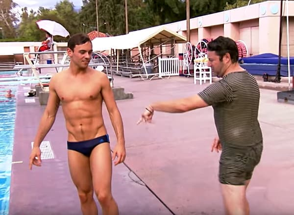 diving lessons Tom Daley