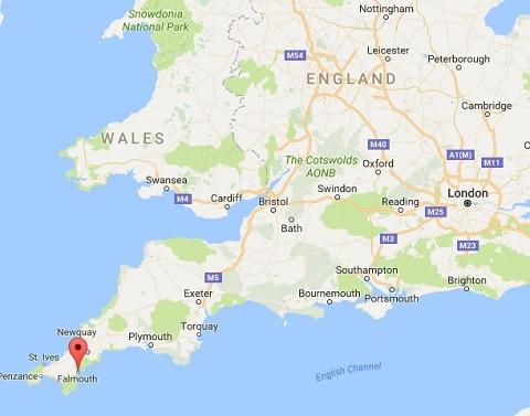 falmouth-england-map