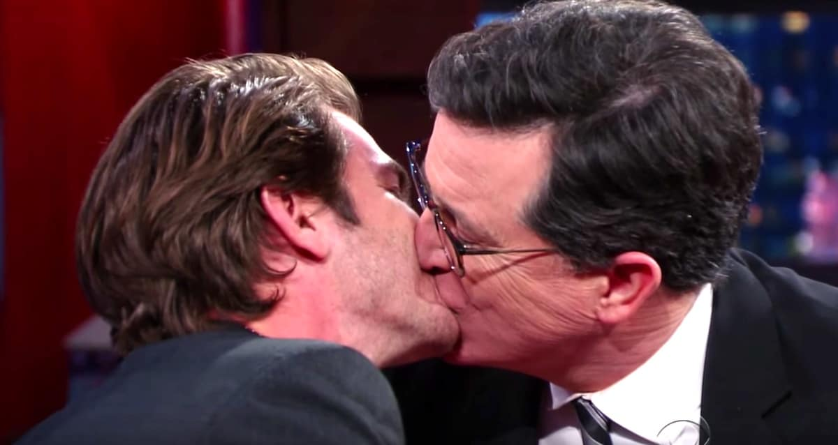 from Leandro is steven colbert gay
