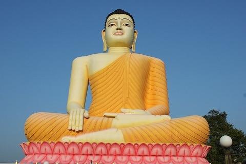 Sri Lanka buddha temple