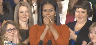 Trump Picks Michelle Obama's Birthday to Announce He's Gutting Her School Lunch Rules and Allowing More Unhealthy Food