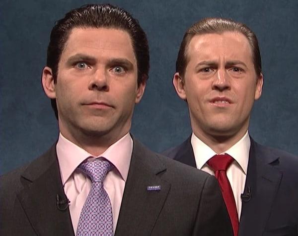 SNL brothers trump