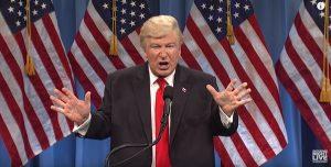 SNL Trump press conference