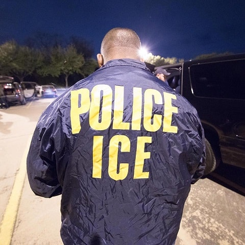 Immigration agents and Customs Enforcement