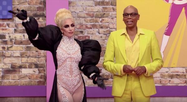 Lady Gaga RuPaul